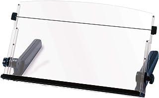 "3M Ergonomic Adjustable Document Holder, 18"" Wide, 300 Sheet Capacity, Elastic Line Guide, Weighted Base"