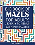 Best Big Books Of Mazes - Big Book of Mazes for Adults: 185 Easy Review