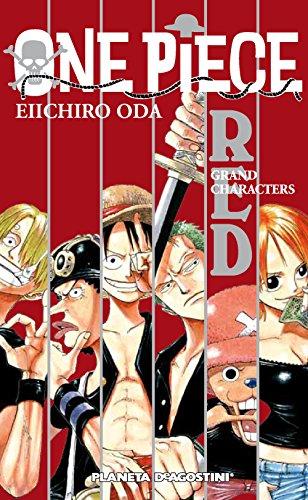 One Piece Guía nº 01 Red: Gran Characters (Manga Artbooks)