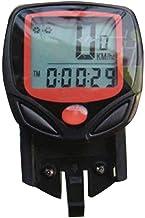 heacker Pantalla LCD de montaña de la Bicicleta del velocímetro del odómetro computadora del Ciclo de múltiples Funciones del Metro de la Bici