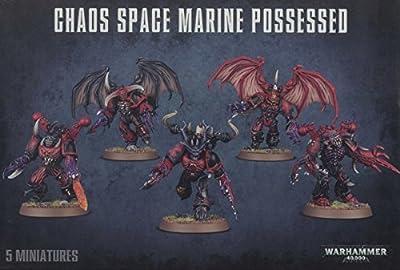 Games Workshop Jeux Atelier 99120102056Chaos Space Marines Homologues de Table et de Jeux Miniature