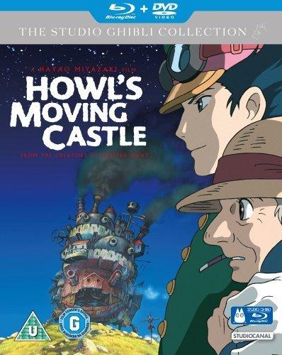 El castillo ambulante / Howl's Moving Castle ( Hauru no ugoku shiro ) ( Howli liikuv kindlus ) (Blu-Ray & DVD Combo) [ Origen UK, Ningun Idioma Espanol ] (Blu-Ray)