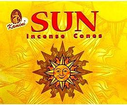 Kamini Incense Cones - Sun - 120 Cone Bulk Box - Dhoops -