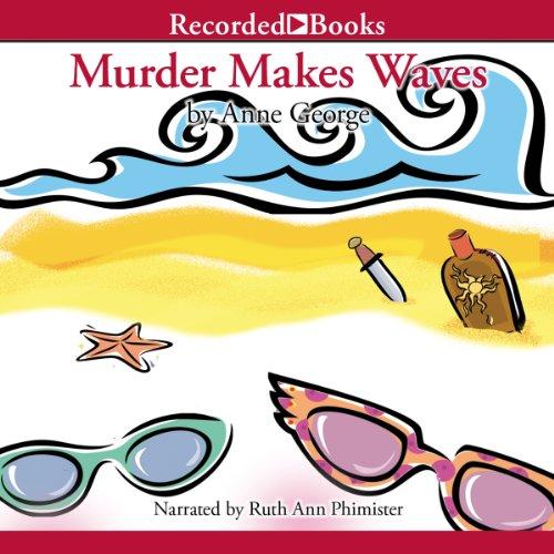 Murder Makes Waves audiobook cover art