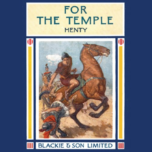 For the Temple audiobook cover art