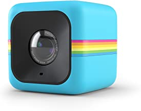 Polaroid Cube Act II HD 1080P Mountable Weather-Resistant Lifestyle Action Video Camera (Blue) 6MP Still Camera w/ Image Stabilization, Sound Recording, Low Light Capability & Other Updated Features