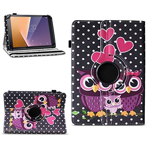 Tasche für Vodafone Tab Prime 7 Tablet Hülle Schutzhülle Hülle 360° Drehbar Cover, Farben:Motiv 4