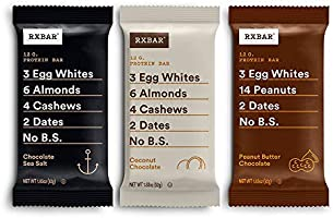 RXBAR, Chocolate Variety Pack 2.0, Protein Bar, High Protein Snack, Gluten Free, 1.83 oz, Pack of 24