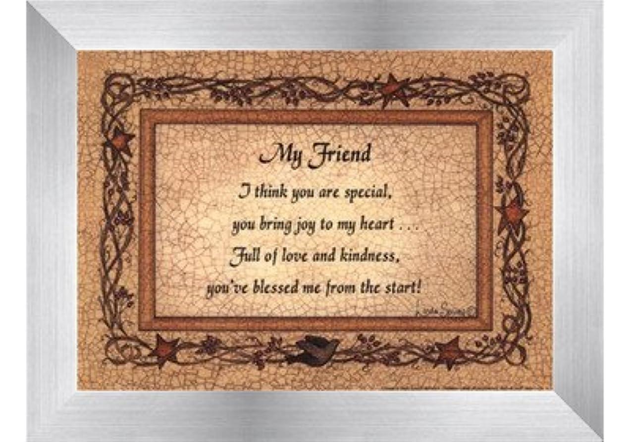 驚くばかりハードウェア悪のMy Friend by Linda Spivey?–?7?x 5インチ?–?アートプリントポスター LE_160935-F9935-7x5