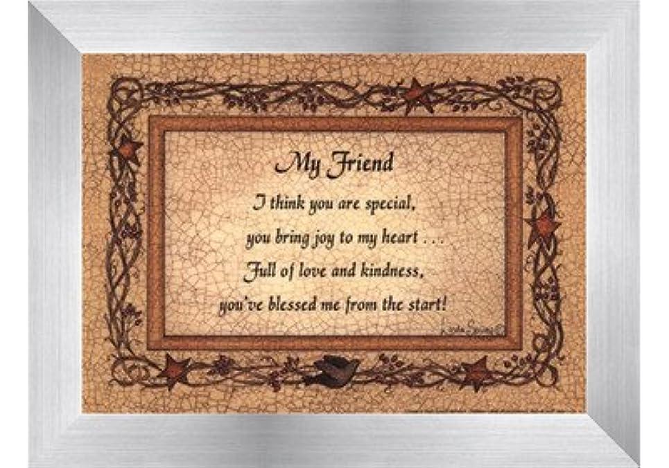 どれか同様の間違えたMy Friend by Linda Spivey?–?7?x 5インチ?–?アートプリントポスター LE_160935-F9935-7x5