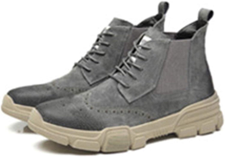 Men's Boots Martin Oxford Adult Desert Boots Classic Brock Chelsea Boots