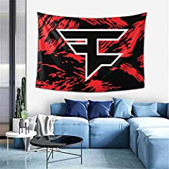 """Size and material: 60"""""""" W x 40"""""""" H, 100% high-quality polyester fiber, using environmentally friendly ink for high-definition printing, soft texture, skin-friendly, and lightweight. Easy to hang and maintain: Equipped with 2 barb clips and 3 non-mark..."""