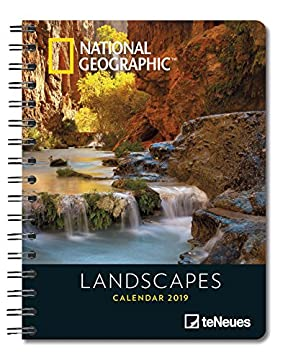 2019 Nat Geog Landscapes Deluxe Diary