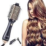 Aibesser Hair Dryer Brush, 2020 Upgrade Blow Dryer Brush Hair Straightener Comb, Professional One Step Hair...