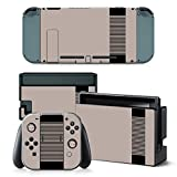 Nintendo Switch Skin Design Foils Faceplate Set - Retro NES Motivo
