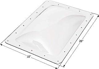 """ICON 01820 RV Skylight SL1422-14"""" x 22"""" x 4"""", Clear"""