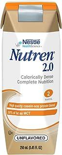 Nutren 2.0 Calorically-Dense Complete Nutrition, Unflavored, 8.45 Fl Oz (24 Count)