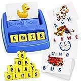LET'S GOS! Kinder Spielzeug ab 2-8 Jahre Junge, Buchstaben Lernen Kindertag Geschenk Geschenke für Mädchen ab 2-8 Jahre Lernspielzeug ab 2-8 Jahre Geschenke für Jungen ab 2-8