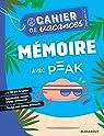 Cahier de vacances - Mémoire avec Peak par Marabout