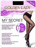 Goldenlady Mysecret 20 Medias, 20 DEN, Negro (Negro 099a), Medium (Talla del Fabricante: 3–M) para Mujer