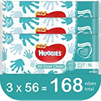 168-Count Huggies All Over Clean Baby Wipes