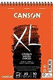 Álbum Espiral Microperforado, A5, 60 Hojas, Canson XL Croquis, Grano Fino 90g