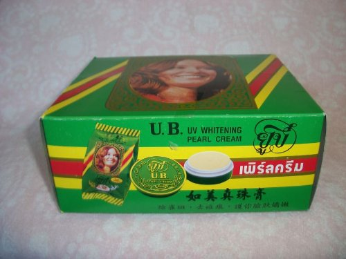 24 U B UV WHITENING PEARL CREAM + VITAMIN E, B3
