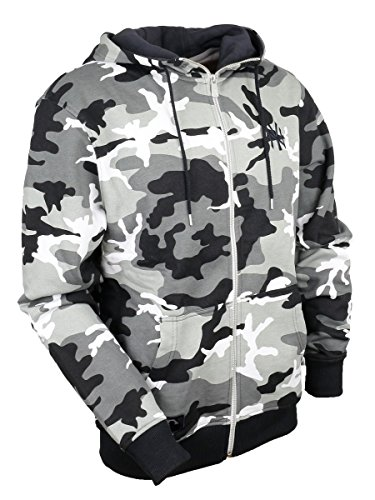 New era New York Yankees Hoody Team Apparel Full Zip Winter Camouflage - S