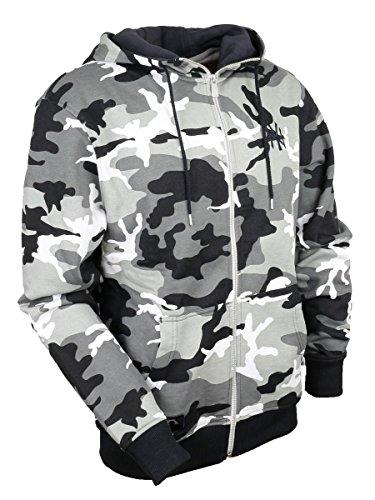 New era New York Yankees Hoody Team Apparel Full Zip Winter Camouflage - S