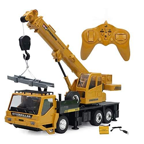 BPDD 2.4Ghz RC Crane Model Engineering Car 1/14 RE-Mote Control Freight Elevator Car RC Vehículo Juguetes para niños, niños y Adultos 6 años 9 años Regalo de cumpleaños para niños Juguete de rega