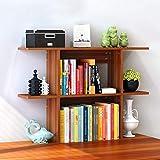 Riyyow Bookshelf Desktop Bookshelf Books Sundries Storage Rack Desk Desk Book Album Photo Librería Multicolor 80x20x63cm Unidad de Almacenamiento Libro Termina Bookends Shelf Book (Color : A)