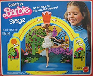 BARBIE BALLERINA STAGE Playset - Stage Over 2 Feet Long! (1976 Mattel Hawthorne)