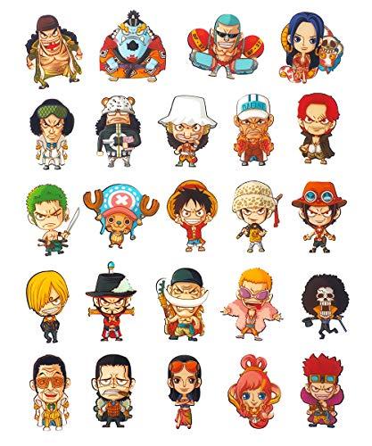 CoolChange One Piece 24 Kühlschrank Magneten mit Chibi Figuren