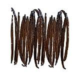 Native Vanilla Granos de vainilla de Tahití de grado A – 25 cápsulas integrales gourmet premium – para chefs y hornear, cocinar y hacer extractos caseros – Extracto de vainilla casero