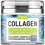 MARYANN Organics Collagen Cream - Anti Aging Face Moisturizer - Day & Night -...