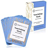 Korean Face Mask | PORELESS Nourishing Korean Skin Care Formula Locks in Hydration with Advanced Penetration TENCEL Sheet Mask - Sensitive & All Skin Types - Cruelty Free Face Mask Kit