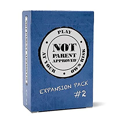 Not Parent Approved Expansion Pack #2 (Core Game Sold Separately): A Fun Card Game for Kids, Tweens, Teens, Families and Mischief Makers - for The Original, Hilarious Family Party Game