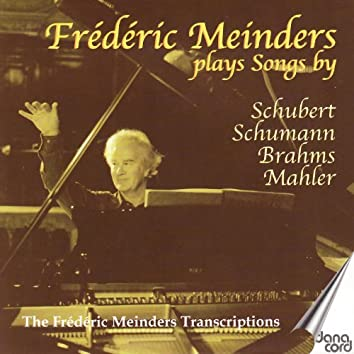 Frédéric Meinders Plays Songs By Schubert, Shumann, Brahms, Mahler