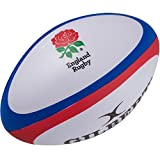 Gilbert Unisexe Angleterre Rugby Balle Antistress, Multicolore, Taille Unique