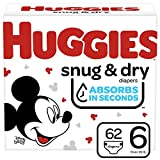 Huggies Snug & Dry Baby Diapers, Size 2, 112 ct, 7.4 Lb