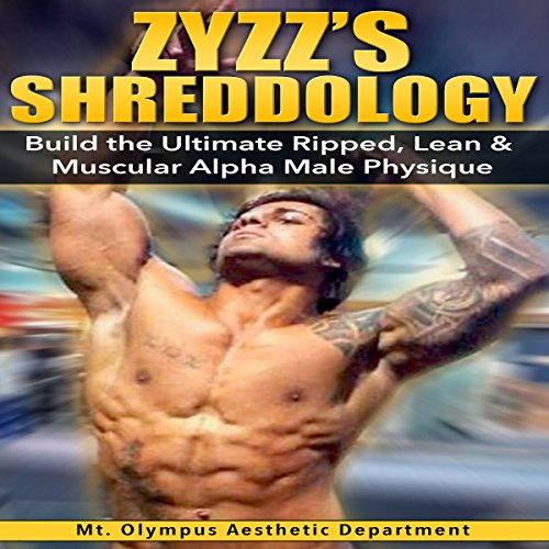 Zyzz's Shreddology audiobook cover art