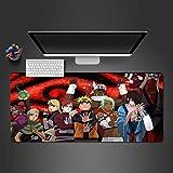PKUOUFG Arte de Personajes de Dibujos Animados Portátiles Alfombrilla de ratón (800x300x896mm) Alfombrilla para ratón para Videojuegos Alfombrilla para ratón Alfombrilla para Juegos Antideslizante c