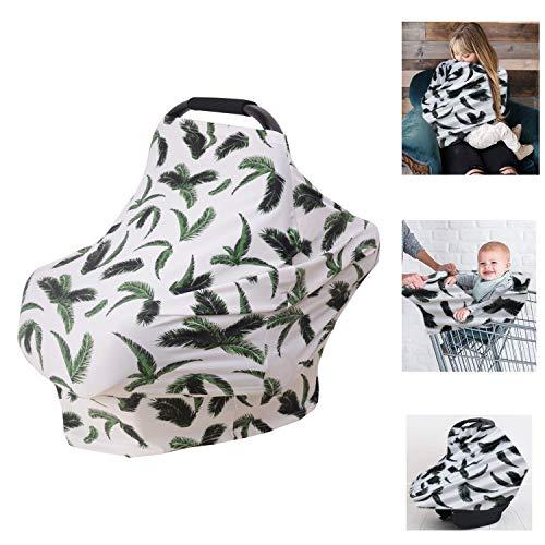 Nursing Cover Multi-funktional Baby Stillschal Stilltuch für Mutter Unterwegs Sichtschutz beim Stillen Schürzenähnlicher verstärkter Stilltücher schals