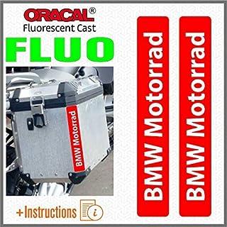 2pcs Reflectantes Adhesivos Compatible para Motorrad R 1200 1150 1250 F 800 650 F700 GS A R1200GS R1200 Touratech Motorcycle Aluminium Panniers Bolsas Laterales Negro//Azul