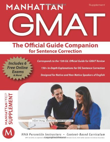 Official Guide Companion for Sentence Correction (Manhattan GMAT)