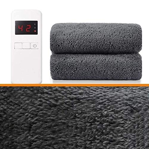 Electrica Manta Electrica Almohadilla Mantas eléctricas dobles, manta eléctrica climatizada |Termostato de doble control |Estudiante doméstico sin radiación sin radiación para cama o sofá |Protección