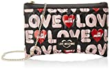 Love Moschino Jc4227pp0a, Pochette da Giorno Donna, Multicolore (Black Multicolore), 5x17x25 cm (W x H x L)
