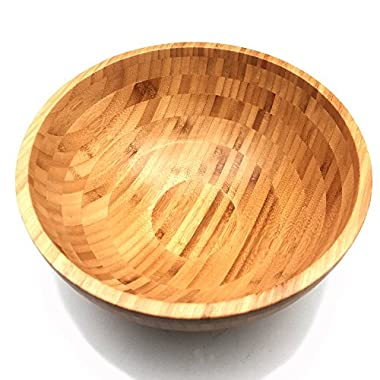 JapanBargain S-4096, Large Bamboo Salad Fruit Bowl 14-inch