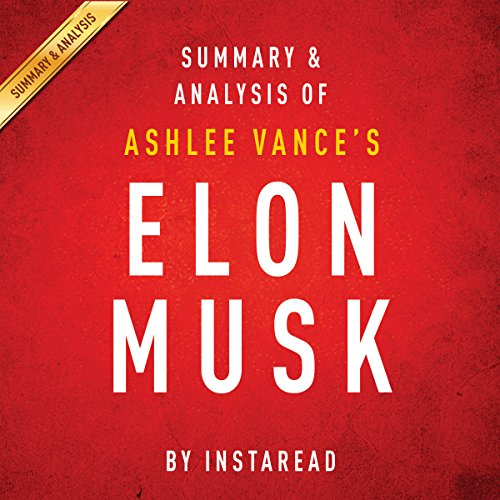 Elon Musk by Ashlee Vance audiobook cover art