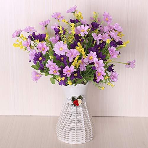 Gaojian Kunstbloem met bloempot, eettafel, salontafel, Kunstmatige plantenbak vaas, familiefeest, bruiloft, nepbloem